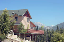 Rocky Point lodge in Yosemite.
